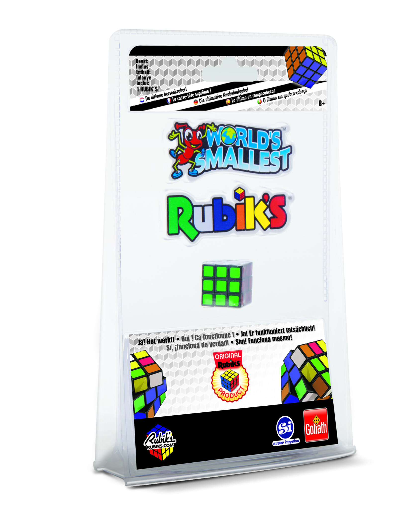 worlds smallest rubik 39 s cube goliath toys goliath toys. Black Bedroom Furniture Sets. Home Design Ideas